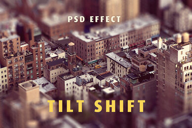 Tilt Shift Lens Effect