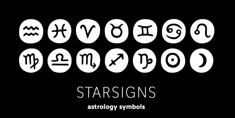 Starsigns Astrology Symbols