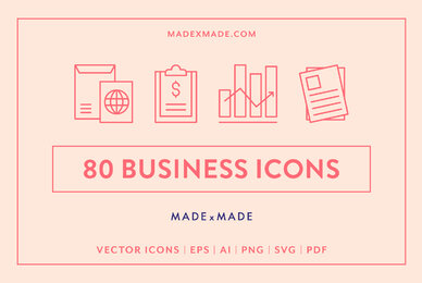 Line Icons     Business