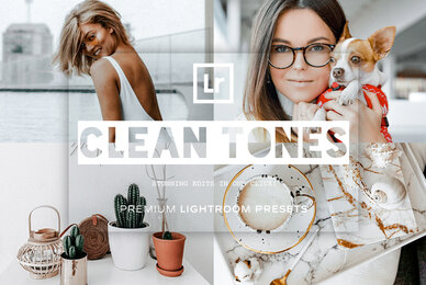 Clean Tones Lightroom Presets