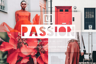 Passion Lightroom Presets