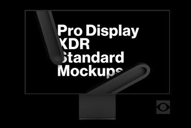 Pro Display XDR Standard Mockups