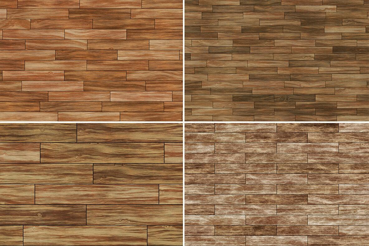 10 Parquet Wood Background Textures