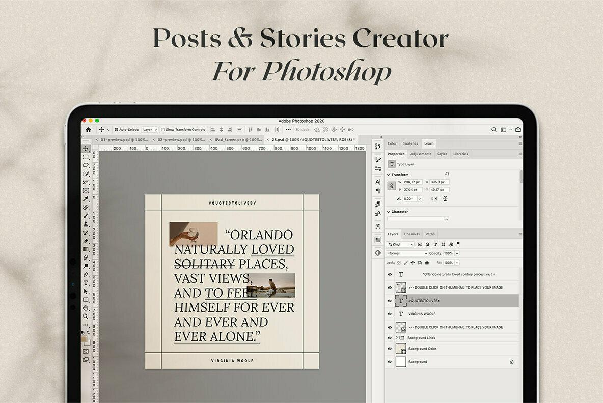 InstaCreator Post   Story Templates