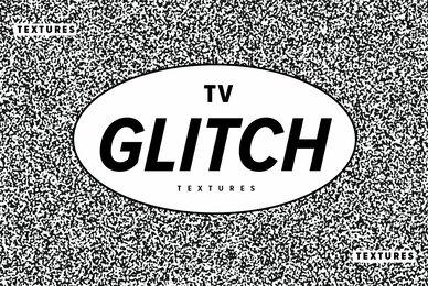 TV Glitch Textures