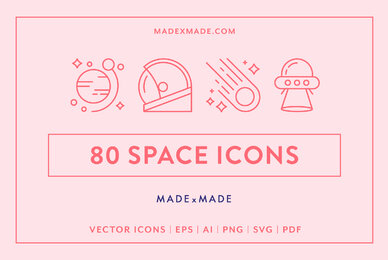 Line Icons     Space