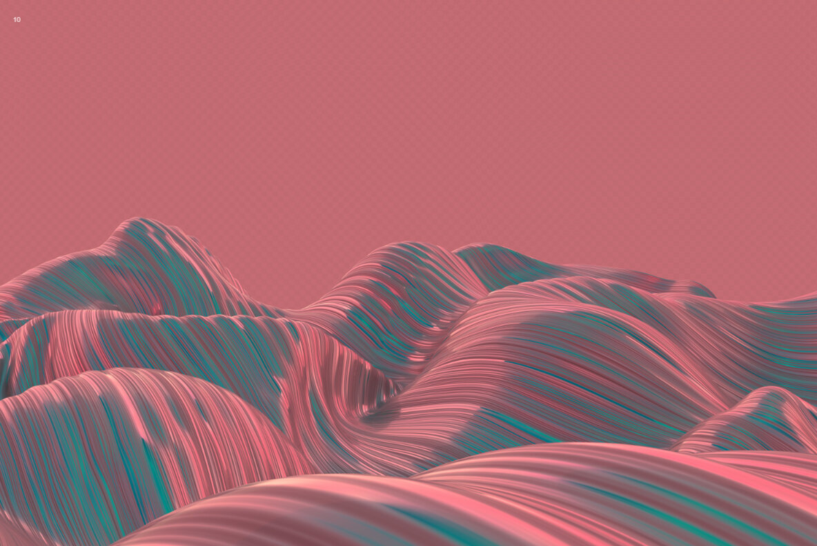 Wavy   Abstract 3D Striped Backgrounds