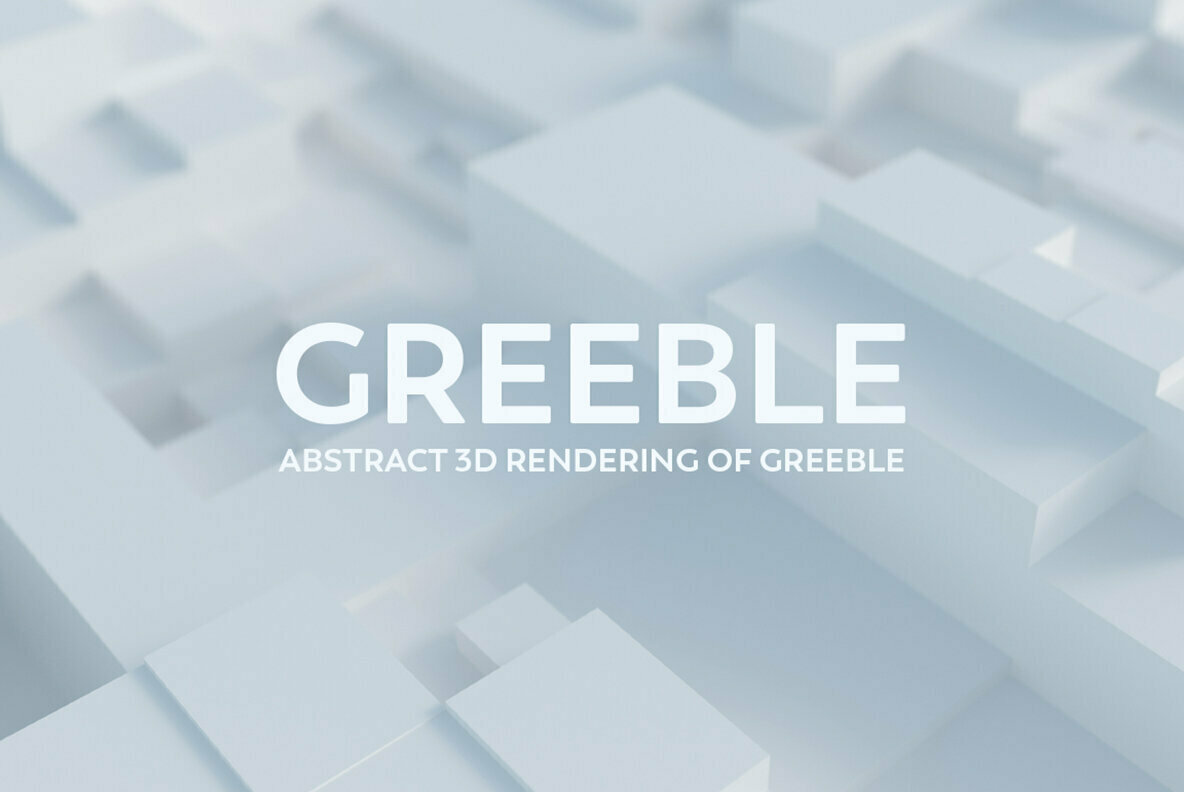 Greeble   Abstract 3D