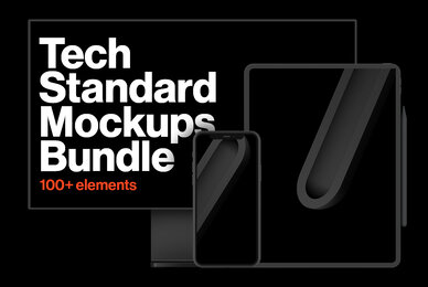 Tech Standard Mockups Bundle