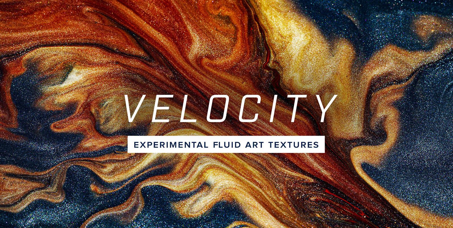 Velocity – 8K Experimental Fluid Art Textures