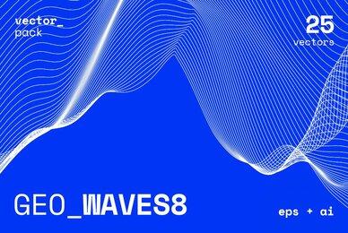 GEO WAVES8 Vector Pack