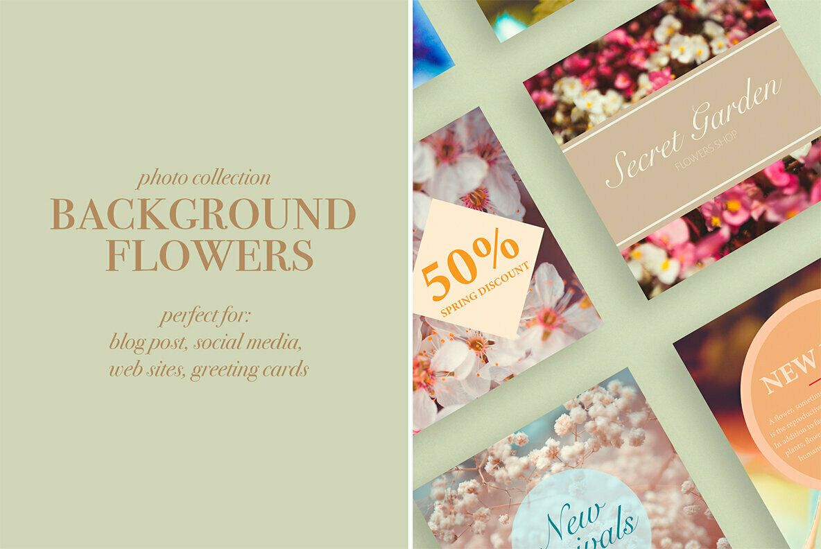 Background Flowers