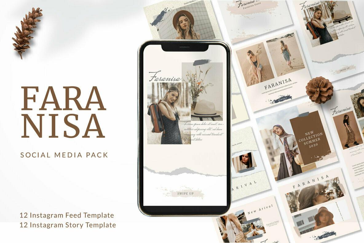 Faranisa   Instagram Post and Stories