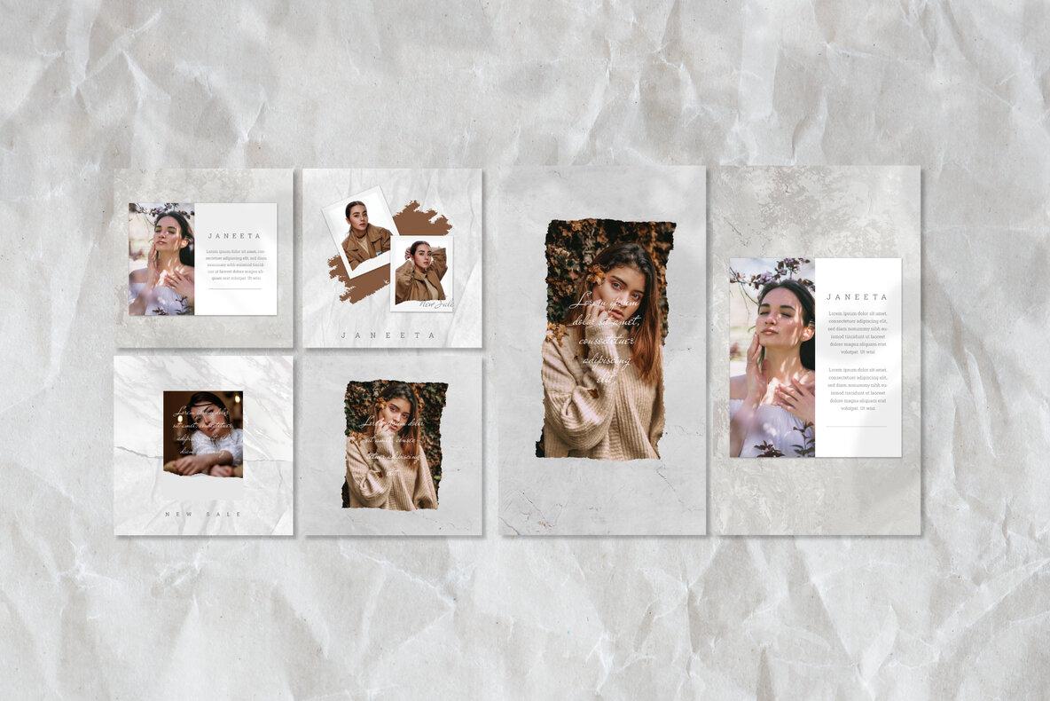 Janeeta   Instagram Post and Stories