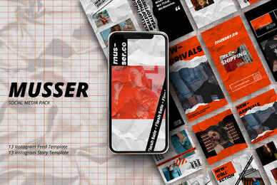 Musser   Instagram Template