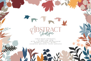Abstract Shape Art Collection
