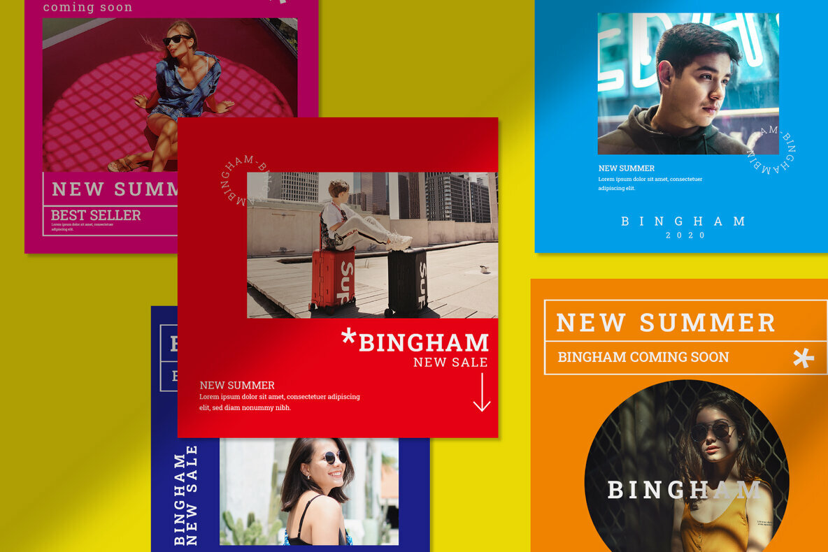 Bingham   Instagram Post and Stories