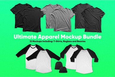 Ultimate Apparel Mockup Bundle
