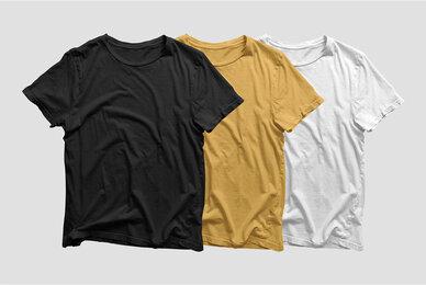 Clean T Shirt Mockup