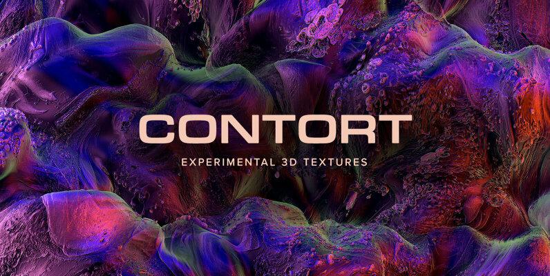 Contort     Experimental 3D Textures