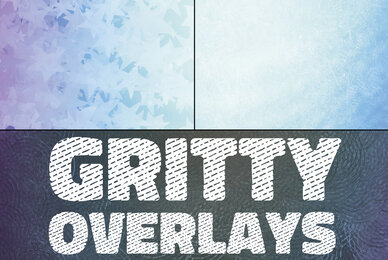 Gritty Texture Overlays