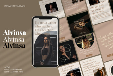 Alvinsa   Instagram Post and Stories