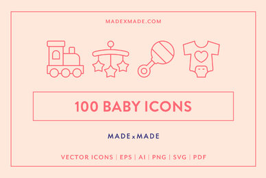 Line Icons     Baby