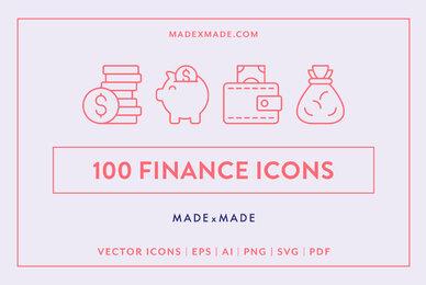 Line Icons     Finance