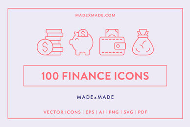 Line Icons     Finance