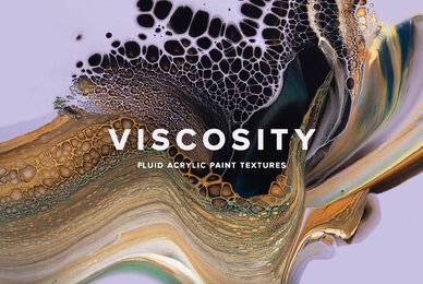 Viscosity     Fluid Acrylic Paint Textures