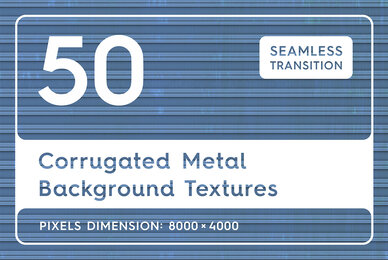 50 Corrugated Metal Background Textures