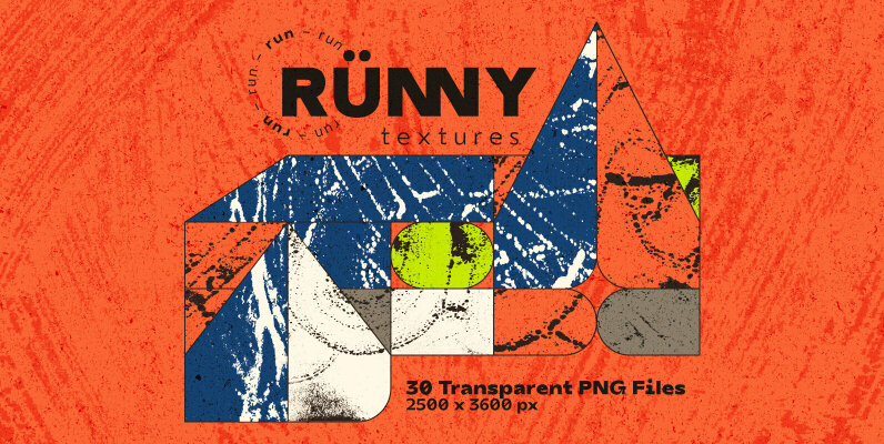Runny Textures