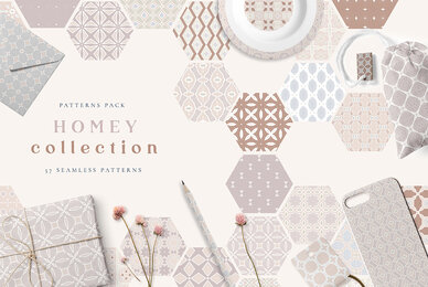 Homey Seamless Patterns