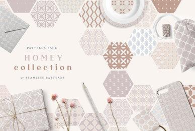 Homey Seamless Patterns