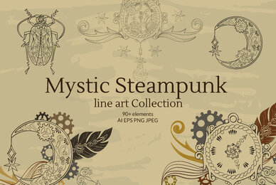 Linear Mystical Steampunk Collection