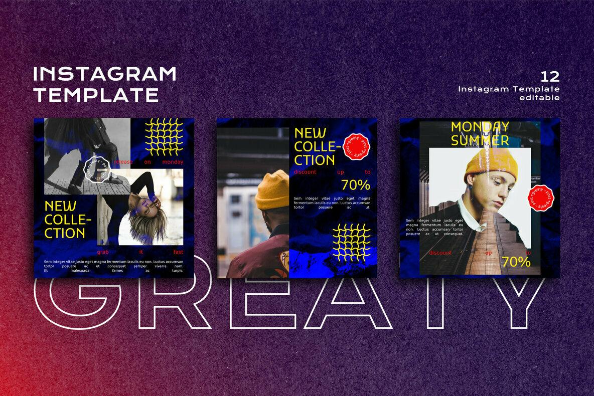 Greaty Instagram Post Stories