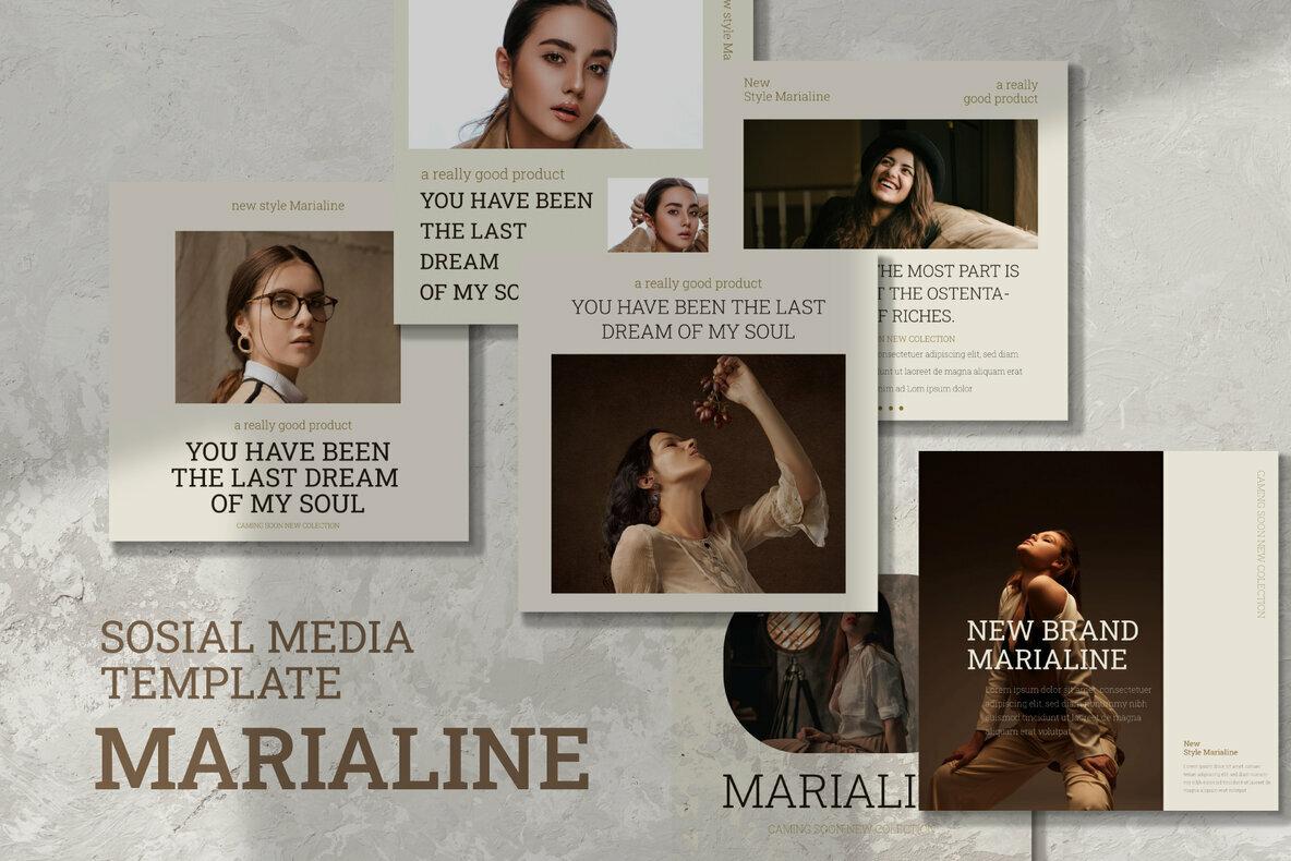 Marialine Instagram Post Stories