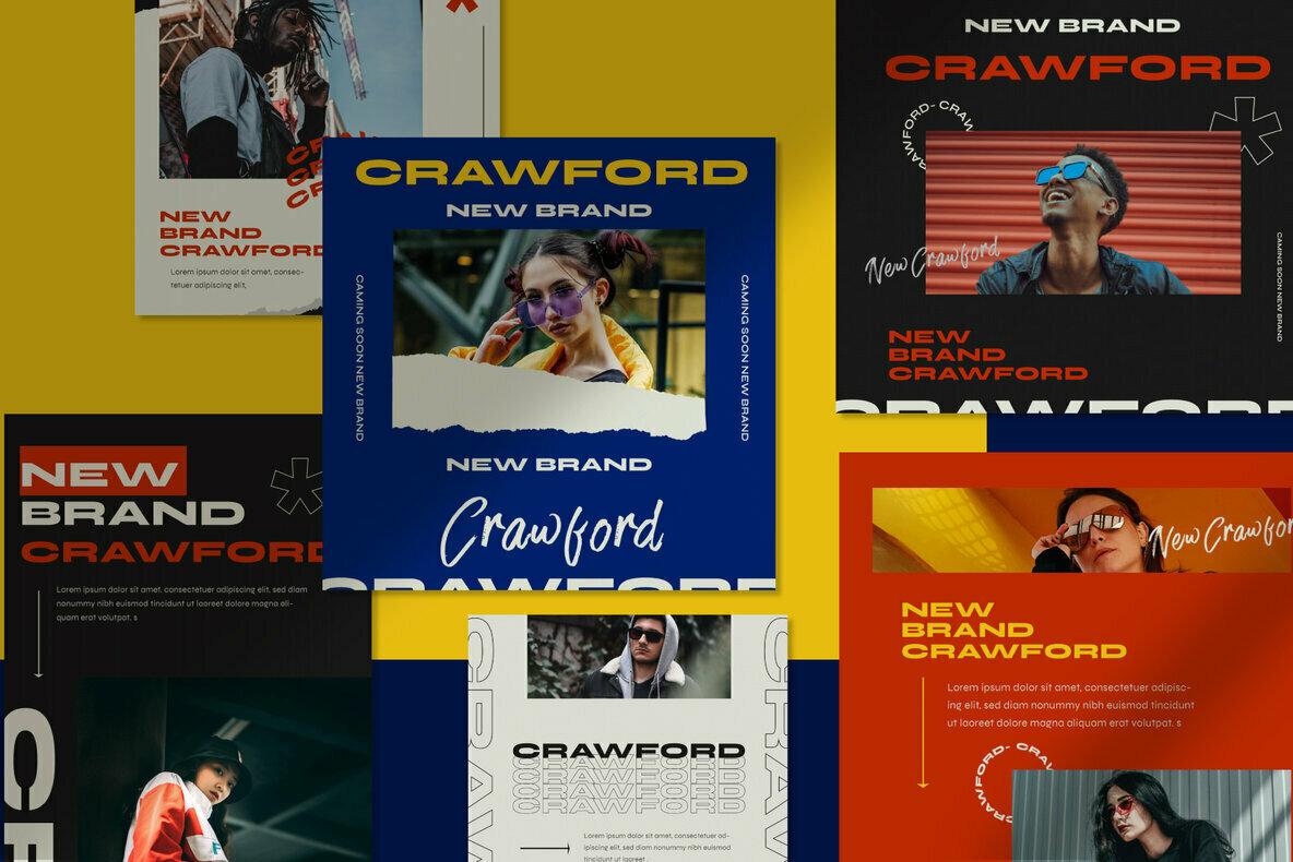 Crawford Instagram Post Stories