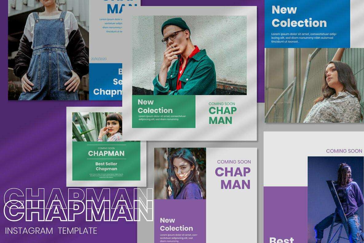 Chapman Instagram Post Stories
