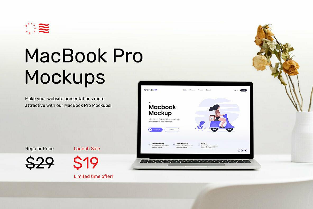 Macbook Mockups   Workspace Mockups