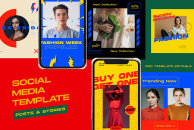 Flash Sale Instagram Post Stories Vol  2