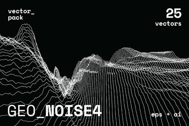 GEO NOISE4 Vector Pack
