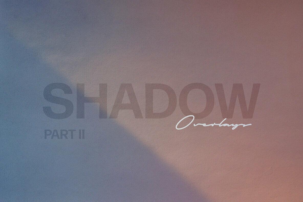 Shadow Play Photo Overlays Vol 2