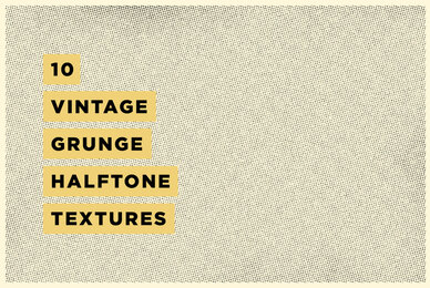 Grunge Halftone Texture Pack