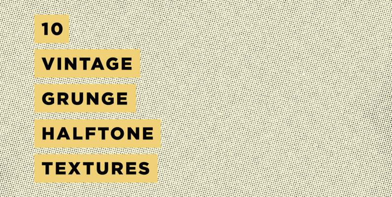 Grunge Halftone Texture Pack