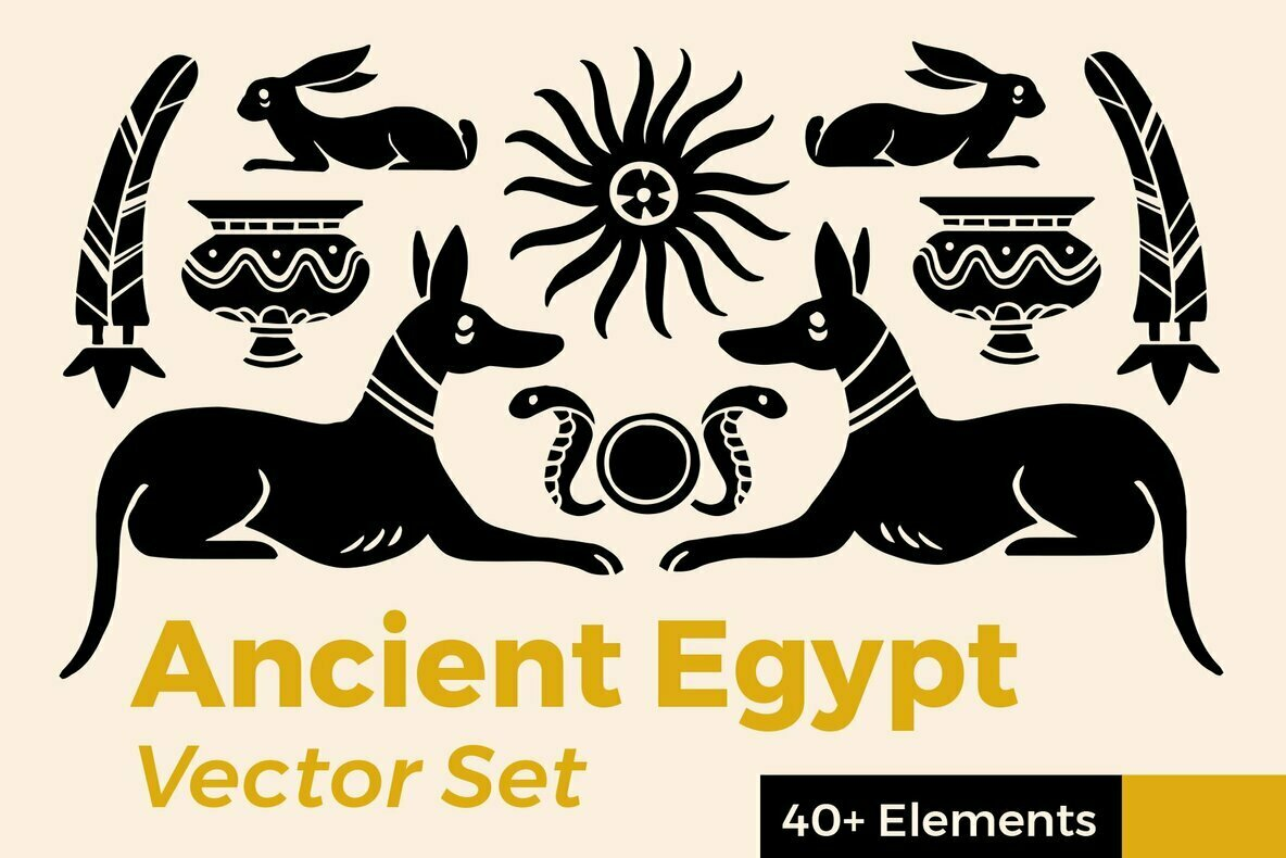 Ancient Egypt Vector Set
