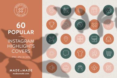 Popular     Instagram Highlight Covers