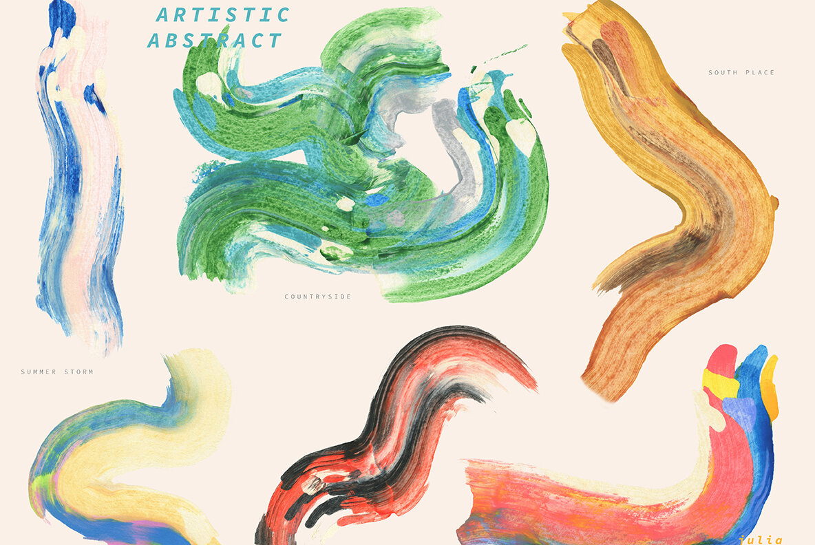 Artistic Abstract Collection