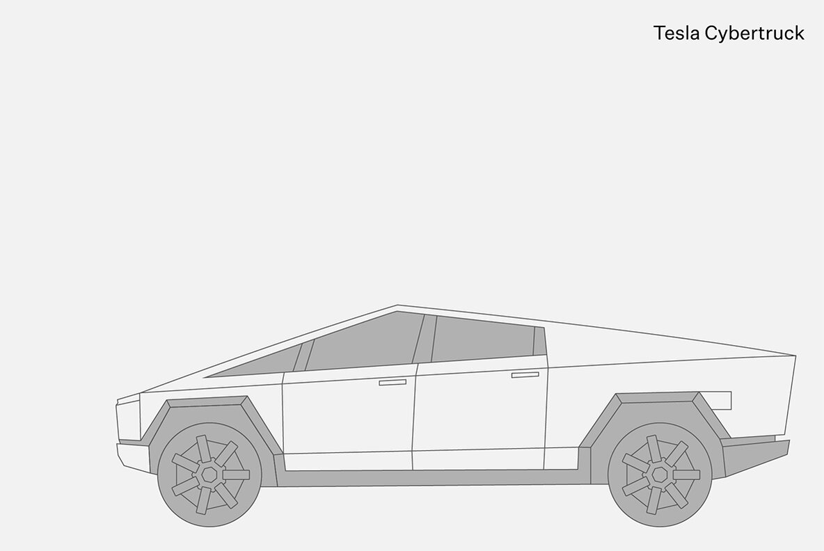 Outlined Car Mockups