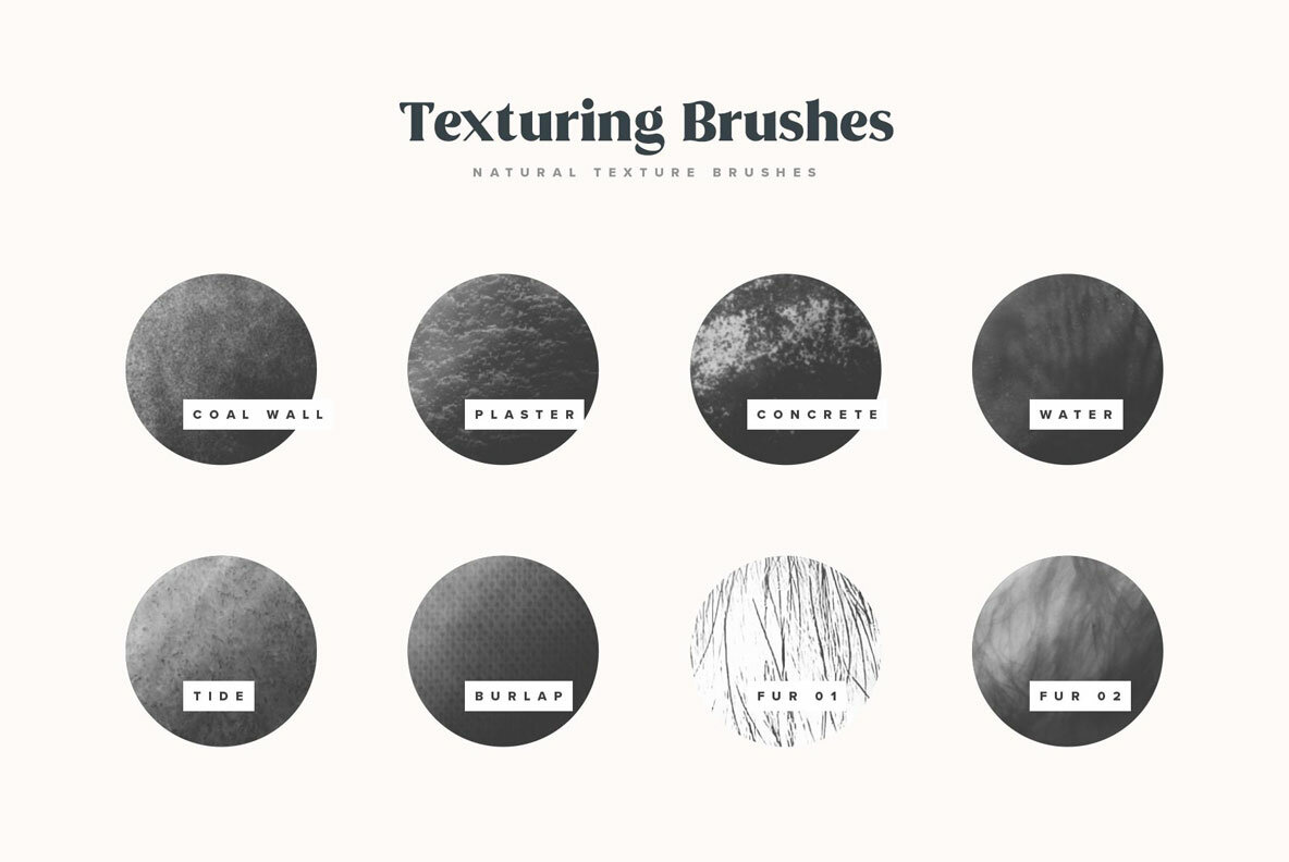 Natural Shading   Texture Procreate Brushes